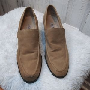 Enzo Angiolini Suede Loafer Sz 7.5